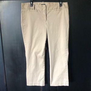 J. Crew CityFit size 10 khaki pants